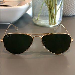 Ray-Ban Aviator Glasses - small frame